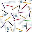 ID 3002222 | Ołówki i linii pomiarowych | Klipart wektorowy | KLIPARTO