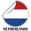 Niederlande Aufkleber