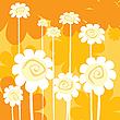 ID 3002402 | Art-Deco-Blumen Karte | Illustration mit hoher Auflösung | CLIPARTO