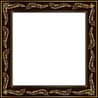 Golden frame | Stock Illustration