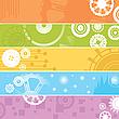 ID 3002497 | Banery internetowe, biegów | Stockowa ilustracja wysokiej rozdzielczości | KLIPARTO