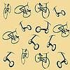 Fahrrad-Muster