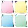 цветные листки для заметок