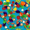 Einfaches Gemüse-Muster