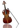Bogen und Violine
