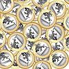 Euro coins fondo | Ilustración vectorial