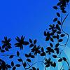 ID 3025247 | Kwiaty tła sylwetki | Stockowa ilustracja wysokiej rozdzielczości | KLIPARTO