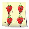 ID 3025435 | Erdbeeren | Illustration mit hoher Auflösung | CLIPARTO