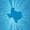 Blaue Lankarte von Texas