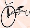ID 3025473 | Altes Fahrrad | Illustration mit hoher Auflösung | CLIPARTO