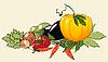 Haufen von Gemüse