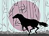 ID 3032300 | Stilisiertes Pferd | Illustration mit hoher Auflösung | CLIPARTO