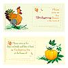 Einladungkarten für Thanksgiving Day