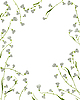 floraler Rahmen