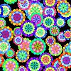 Nahtlose florale Komposition