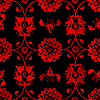 rotes florales Muster