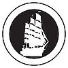 Emblem eines alten Schiffes