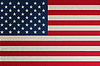 Halbton-Flagge der USA