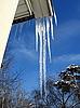 ID 3011964 | Eiszapfen am Dach | Foto mit hoher Auflösung | CLIPARTO