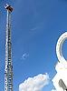 ID 3012134 | Wysoka drabina pożarnicza | Foto stockowe wysokiej rozdzielczości | KLIPARTO