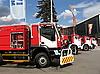 ID 3012159 | Linie of Feuerwehrautos | Foto mit hoher Auflösung | CLIPARTO