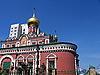 ID 3012222 | Czerwony kościół | Foto stockowe wysokiej rozdzielczości | KLIPARTO