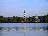 ID 3032488 | Церковь возле озера | Фото большого размера | CLIPARTO