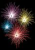 Stern-Feuerwerk
