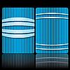 Niebieski wzór biznes | Stock Vector Graphics