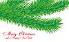 ID 3011440 | Weihnachtsgrüße Karte mit Tanne-Zweig | Stock Vektorgrafik | CLIPARTO