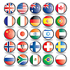 Icons-Flaggen