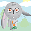ID 3011595 | Hare cartoon | Klipart wektorowy | KLIPARTO