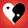 Liebe als Yin Yang