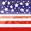 Hintergrund mit Elementen der USA-Flagge