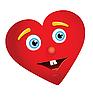 Herz mit Gesicht