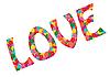 꽃에서 사랑 | Stock Vector Graphics