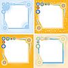 quadratische Rahmen