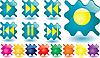 ID 3016379 | Przyciski muzyczne | Klipart wektorowy | KLIPARTO