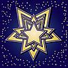 ID 3016419 | Gwiazdki na niebieskim tle | Klipart wektorowy | KLIPARTO