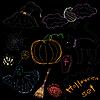 ID 3053104 | Halloween-Set | Stock Vektorgrafik | CLIPARTO