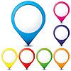 지도 포인터 | Stock Vector Graphics