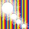 Regenbogen-Hintergrund
