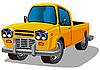 农夫车 | 向量插图
