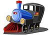 火车 | 向量插图