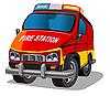 화재 지프 | Stock Vector Graphics