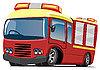 ID 3012400 | Fire engine | Klipart wektorowy | KLIPARTO