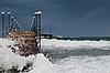 Sturm auf dem Meer | Stock Foto
