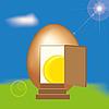 ID 3018633 | Eier-Haus | Illustration mit hoher Auflösung | CLIPARTO