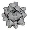 ID 3036766 | 灰色光泽的礼物弓 | 高分辨率照片 | CLIPARTO
