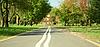 ID 3065345 | Droga rowerowa w jesiennym parku | Foto stockowe wysokiej rozdzielczości | KLIPARTO